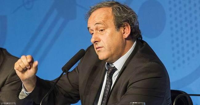 Platini'den 'Panama belgeleri' açıklaması