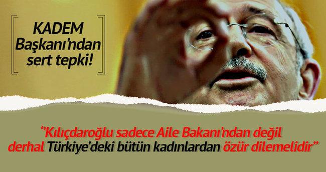 ''Kılıçdaroğlu derhal özür dilemelidir''