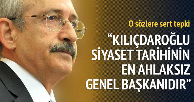 Tayyar: Kılıçdaroğlu siyaset tarihinin en ahlaksız genel başkanıdır