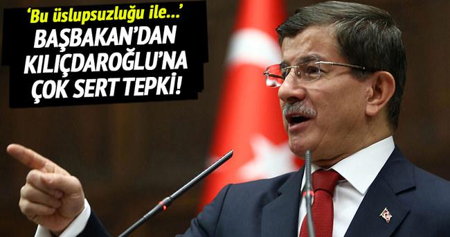 Başbakan'dan Kılıçdaroğlu'na tepki!