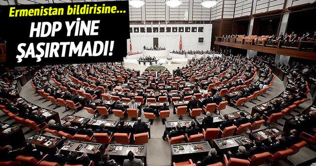 HDP Ermenistan'ı kınamadı!
