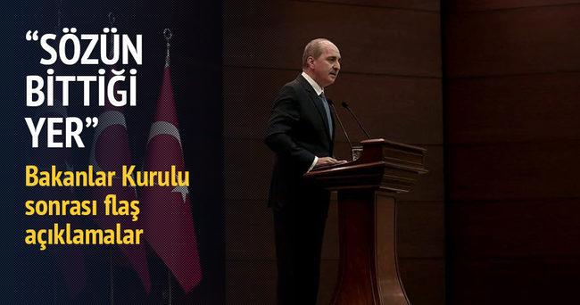 Numan Kurtulmuş: Kılıçdaroğlu'nun bu sözleri sözün bittiği yerdir