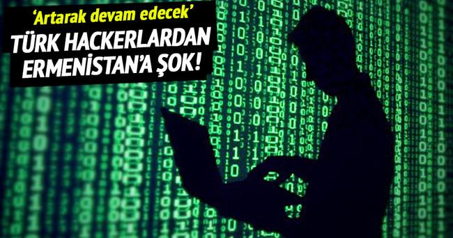 Türk hackerlardan Ermenistan'a şok!