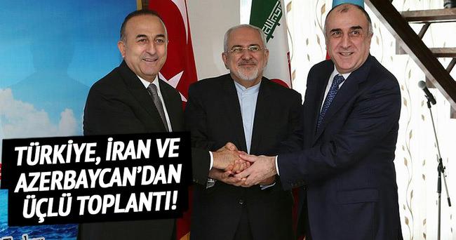 Türkiye, İran ve Azerbaycan'dan üçlü toplantı