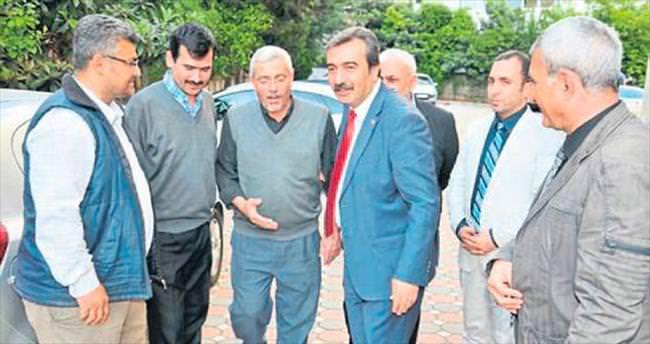 Başkan Çetin'den çat kapı denetim