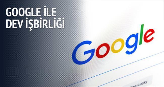 Google ile dev işbirliği
