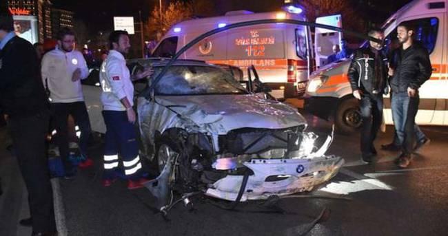 Beşiktaş'ta feci kaza: 1 ölü, 1 yaralı