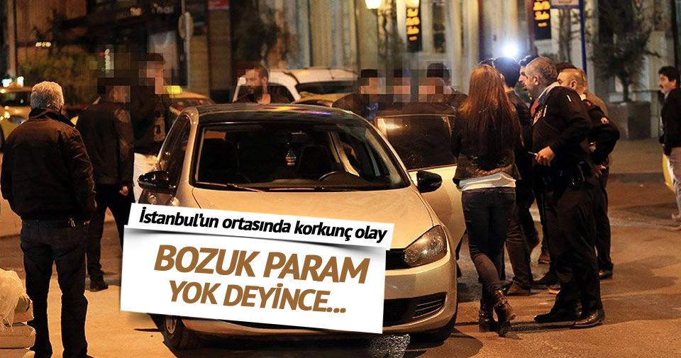 Beyoğlu'nda otopark görevlisi öldürüldü