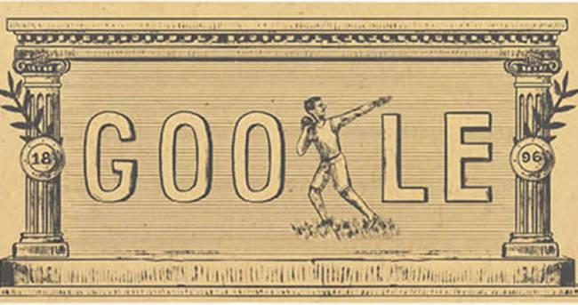 Modern olimpiyatlar doodle oldu