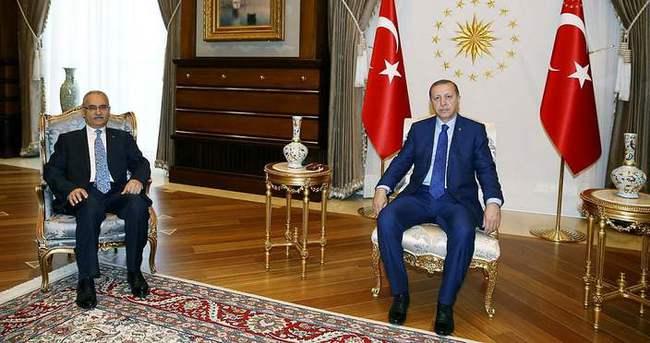 Cumhurbaşkanı Erdoğan, Danıştay Başsavcısını kabul etti