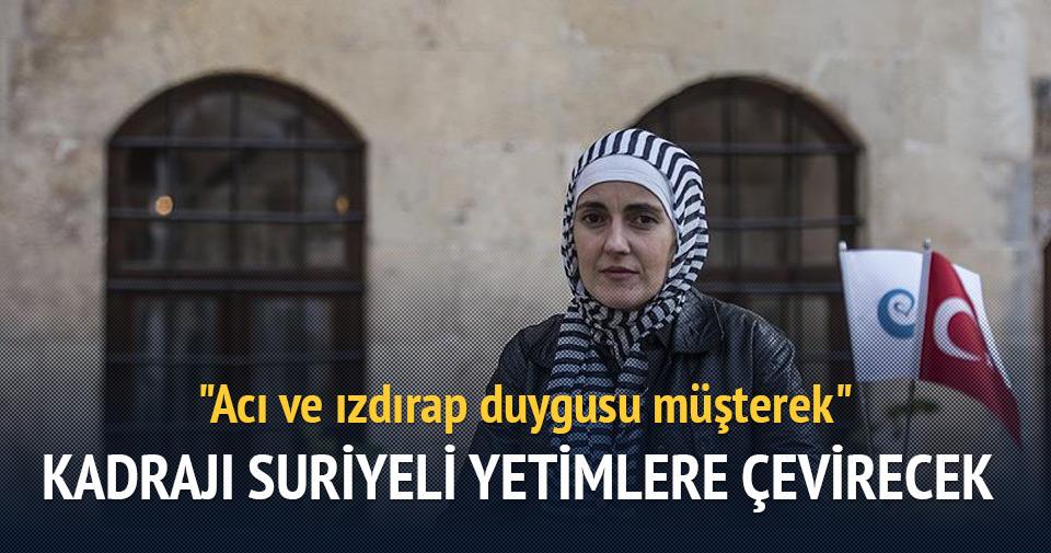Kadrajı Suriyeli yetimlere çevirecek