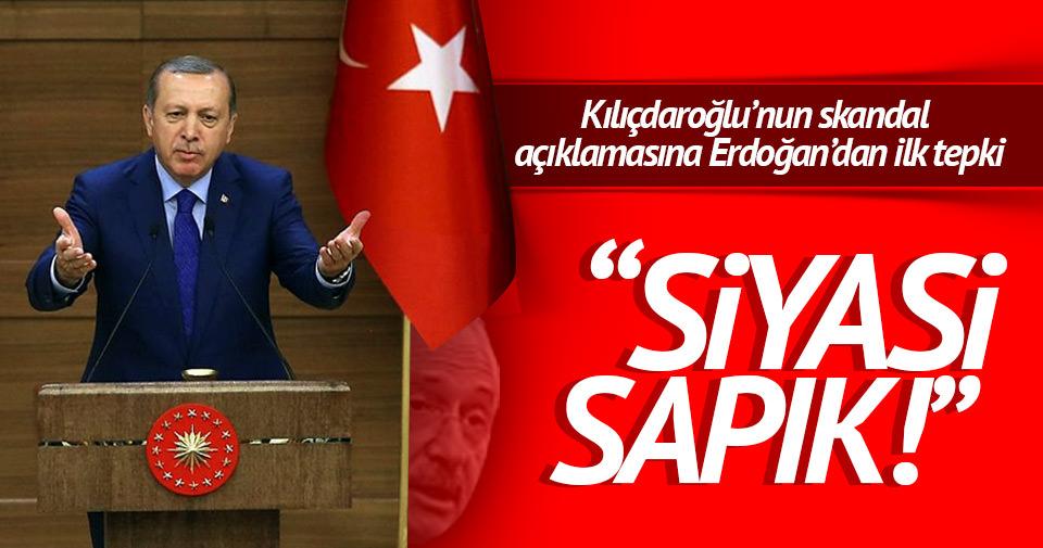Cumhurbaşkanı Erdoğan'dan Kılıçdaroğlu'na: Siyasi sapık