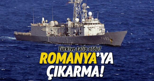 Türk Savunma Sanayi  Romanya'ya çıkarma yaptı