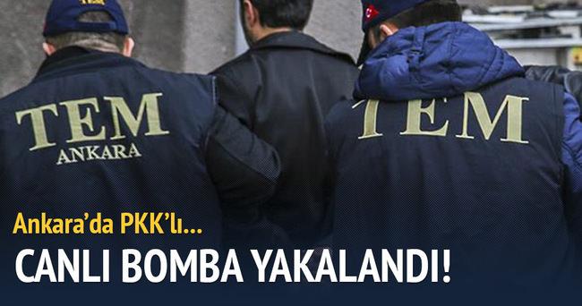 Canlı bomba şüphelisi Ankara'da yakalandı!