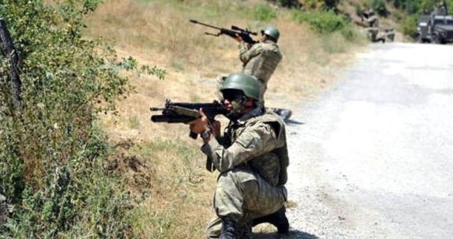 Tunceli'de çatışma: 1 terörist öldürüldü