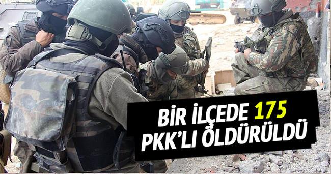 Nusaybin'de 175 PKK'lı etkisiz hale getirildi