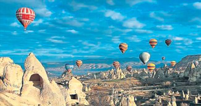 Kapadokya'ya direkt uçak seferi başladı