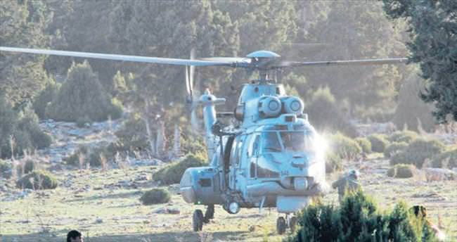 Drone ve helikopter devrede