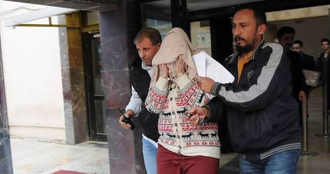 Oğlunu öldürdüğü iddia edilen anne ile sevgilisi tutuklandı