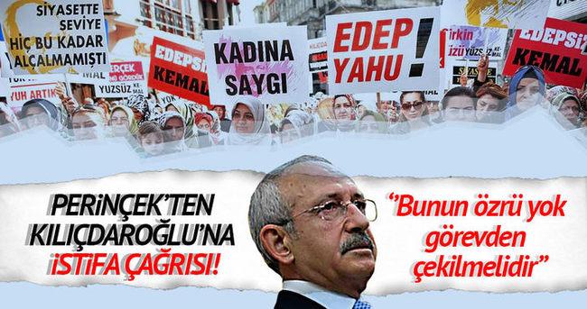 Perinçek'ten Kılıçdaroğlu'na istifa çağrısı