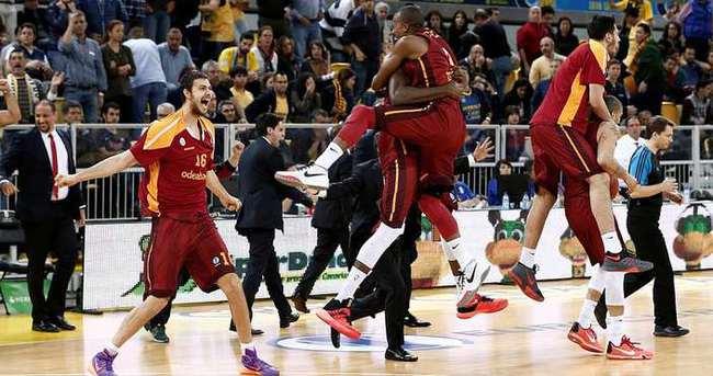 Eurocup finali rövanş maçı Abdi İpekçi'de