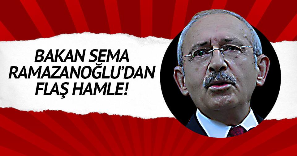 Sema Ramazanoğlu'ndan Kılıçdaroğlu'na dava