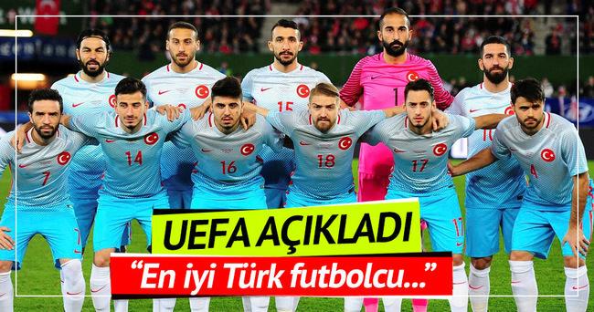 UEFA: En iyi Türk futbolcu Arda Turan