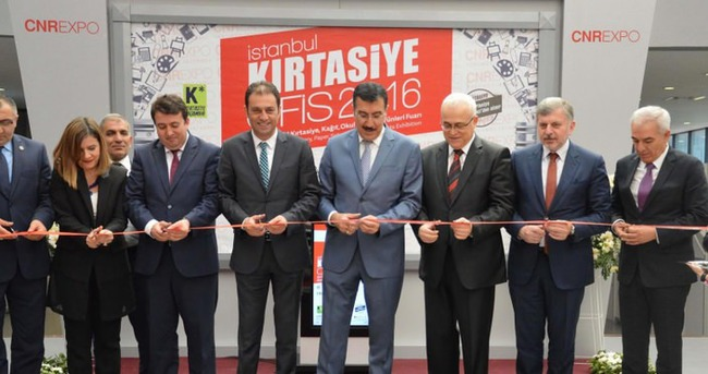 'İstanbul Kırtasiye-Ofis 2016' Fuarı kapılarını 22. Kez dünyaya açtı