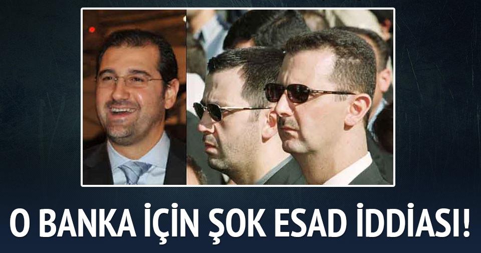 'HSBC yaptırıma rağmen Esad'in kuzeniyle çalıştı' iddiası