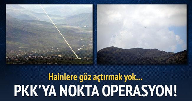 Tunceli'de PKK'ya 'Kobra' darbesi