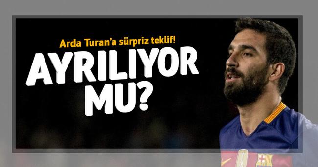Arda Turan'a sürpriz teklif!