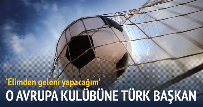 İsveç kulübüne Türk başkan