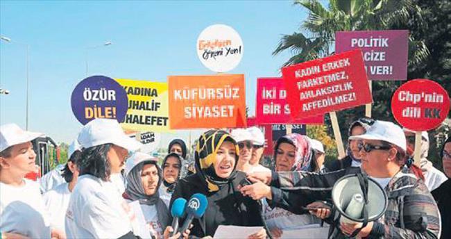 Antalyalı kadınlardan Kılıçdaroğlu'na sert tepki