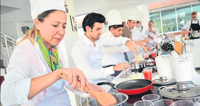 Yemek pişirmek sağlığın parçası