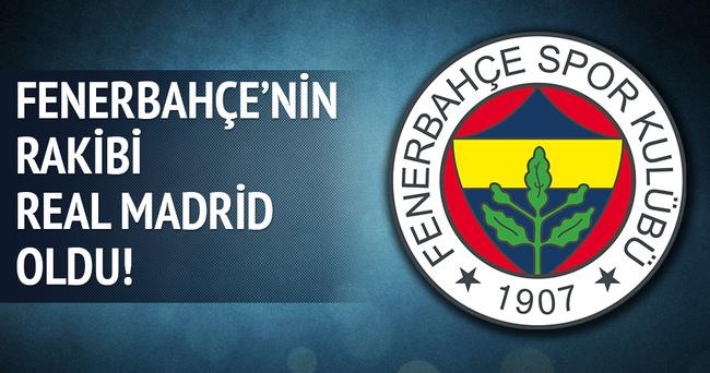 Fenerbahçe'nin rakibi Real Madrid