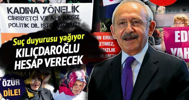 Kılıçdaroğlu hesap verecek