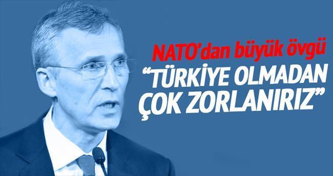 'Türkiye olmadan mücadele zor olurdu'