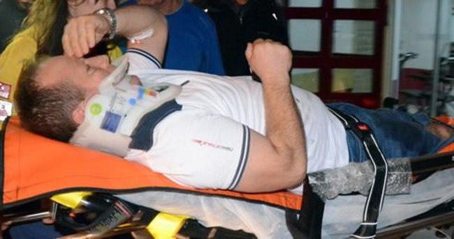 Zonguldak'ta evin balkonu çöktü: 3 yaralı