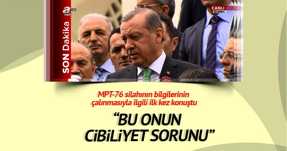 Erdoğan'dan milli projeyi çalma girişimiyle ilgili ilk açıklama