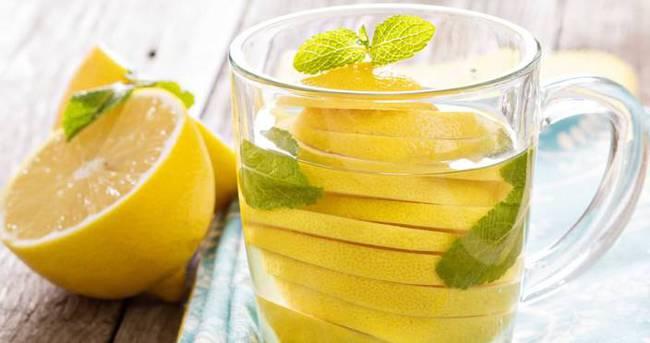 Limonlu su içmeli mi?