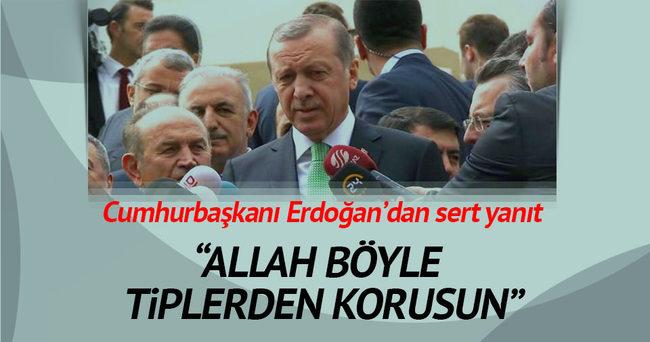 Erdoğan'dan Kılıçdaroğlu'na cevap: Allah Türk siyasetini böyle tiplerden korusun