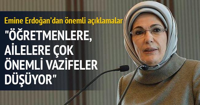 Emine Erdoğan otizmli çocuklarla ilgili konuştu