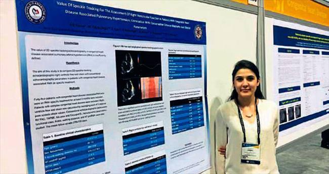 YDÜ dünyanın en prestijli kardiyoloji kongresinde
