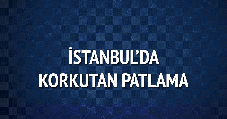 İstanbul'da Alibeyköy'de korkutan patlama