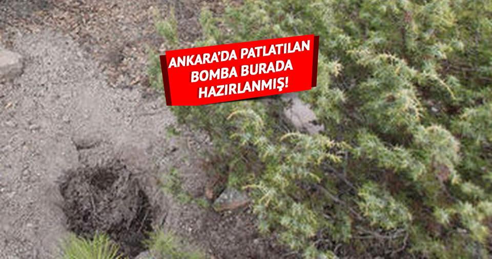 Ankara'da patlatılan bomba Çamlıdere'de hazırlandı