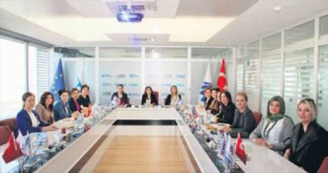 Kadın girişimcilerden Teknopark'a ziyaret