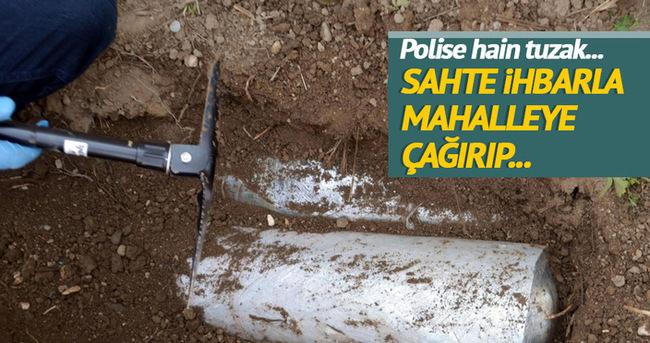 Adana'da polise tuzak kuruldu!