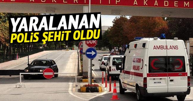 Nusaybin'de yaralanan polis memuru şehit oldu