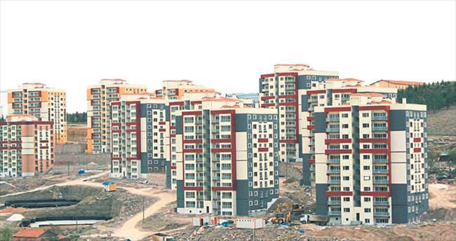 Niğde'de modern binalar yükseliyor