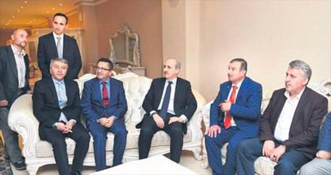 Ankara'nın atardamarına Kurtulmuş'tan ziyaret